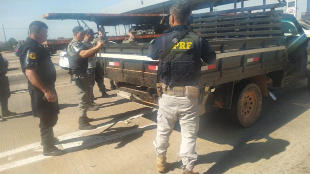 Homem é preso na BR 153 transportando 30 Kg de cocaína