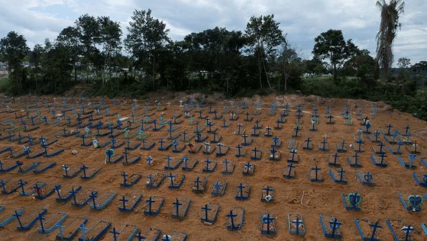 Brasil ultrapassa 530 mil óbitos por Covid