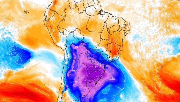 Nova onda de ar frio pode trazer temperaturas negativas para Goiás