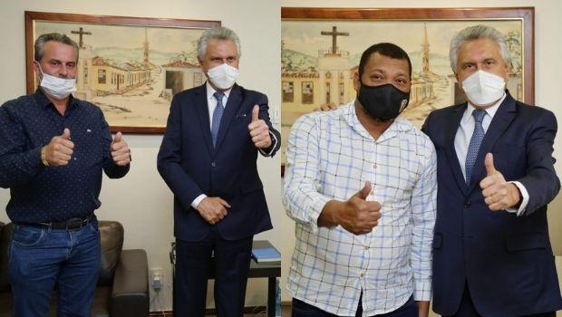 Caiado confirma filiação de dois prefeitos do PL ao Democratas