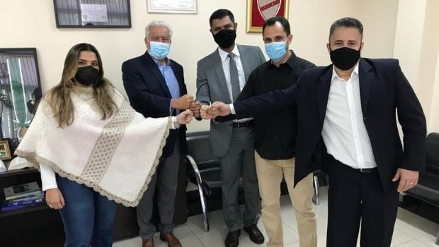 Vilmar Rocha visita Policarpo e intensifica agenda de articulações do PSD
