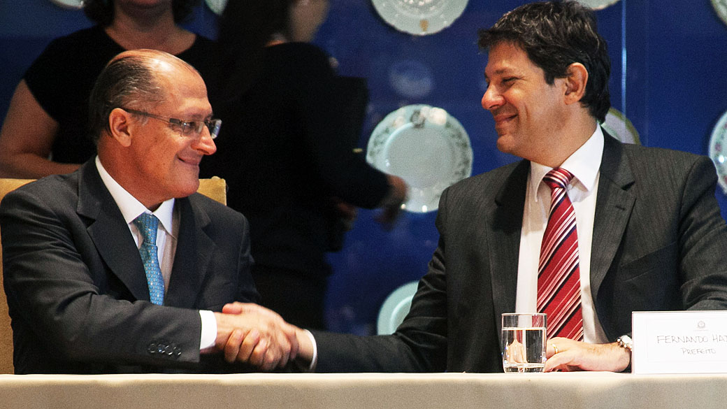 Pesquisa Ipespe mostra Alckmin na liderança em SP. Mas, sem Boulos, Haddad empata com o tucano