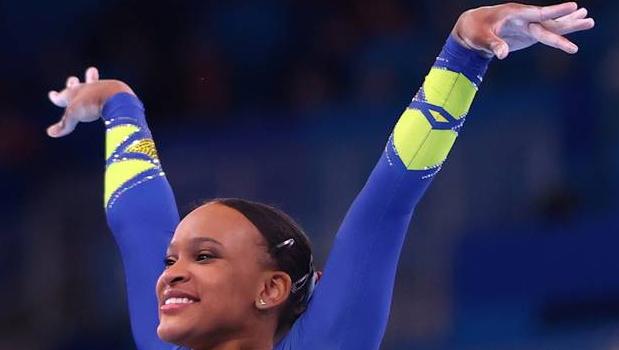 Rebeca Andrade conquista inédita prata para o Brasil