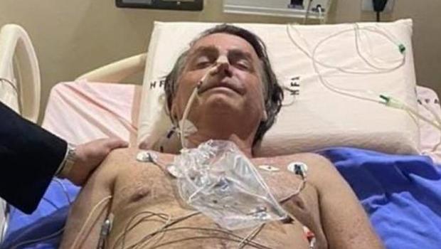 Bolsonaro é avaliado por cirurgião que o operou após facada no ano de 2018
