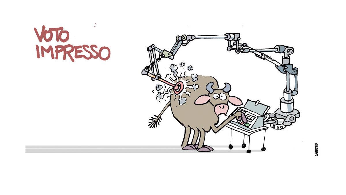 Assunto chato: o natimorto voto impresso de Bolsonaro