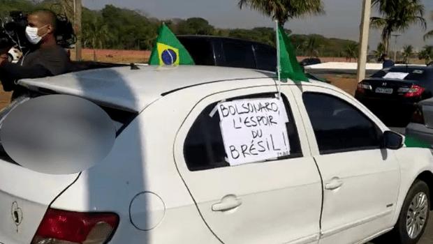 Oito cidades de Goiás tiveram manifestação contra e a favor de Bolsonaro
