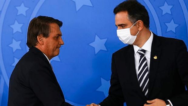 Pacheco diz que confia em Bolsonaro, mas  admite instabilidade política do Brasil
