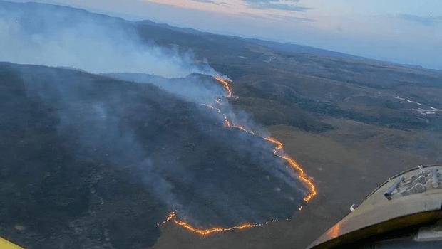 Incêndio na Chapada dos Veadeiros já se espalhou por 20 km