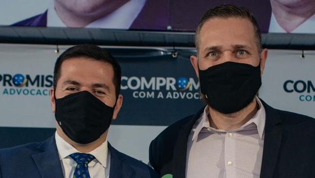 Pré-candidato à OAB-GO, Rafael Lara recebe apoio do advogado Clodoaldo Moreira