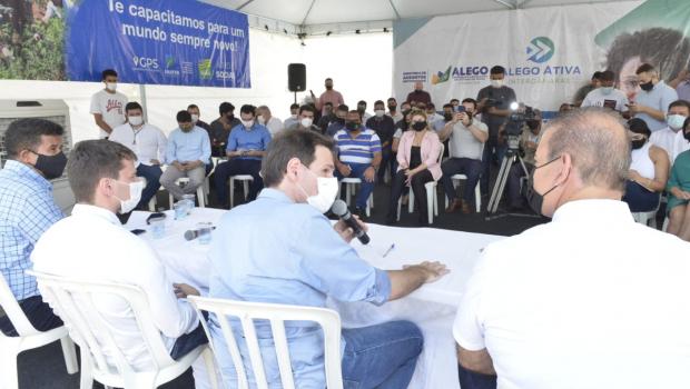 Programa Alego Ativa ouve demandas da população de Goianira