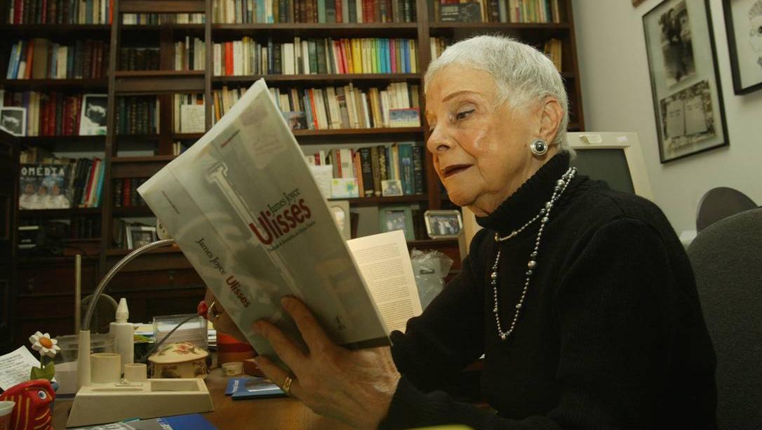 Morre Bernardina Pinheiro, tradutora de James Joyce, aos 99 anos