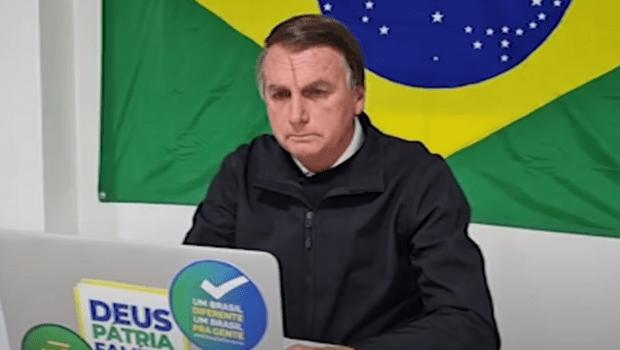 Bolsonaro abandona entrevista após discussão travada com apresentadores