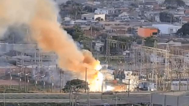 Nova explosão ocorre em subestação de energia; veja vídeo