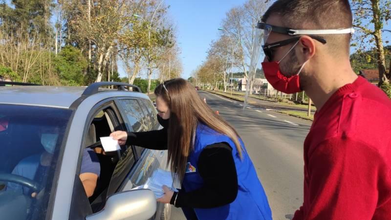 Coronavírus: Rolante anuncia nova blitz de orientação no trânsito