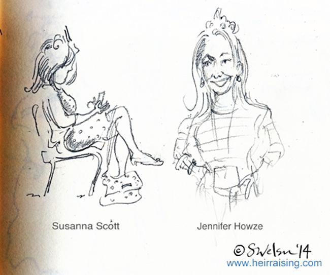 Susanna Scott & Jennifer Howze