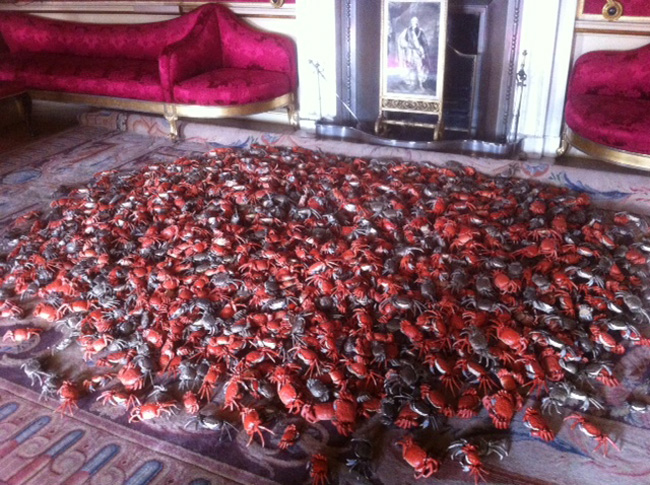River crabs by Ai Wei Wei