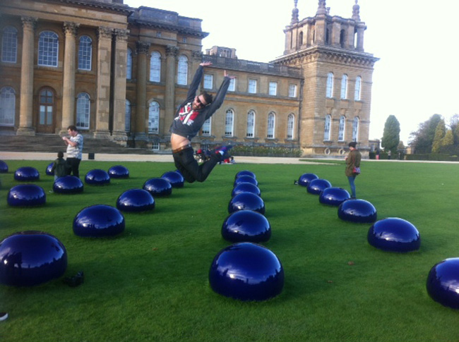 Ai Wei Wei at Blenheim Palace