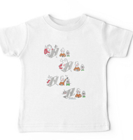 Rabbit hole Easter baby T-shirt
