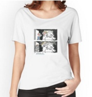 Sex and the blogger Relaxed fit T-shirt