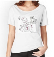 Wedding cake Relaxed fit T-shirt