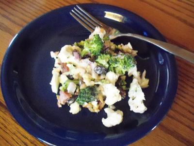 BroccoliCauliflowerSalad