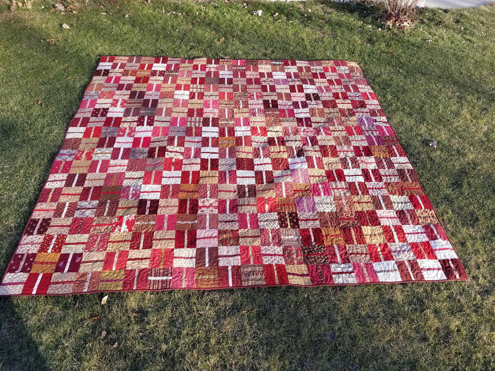 A Quilt for a December Wedding