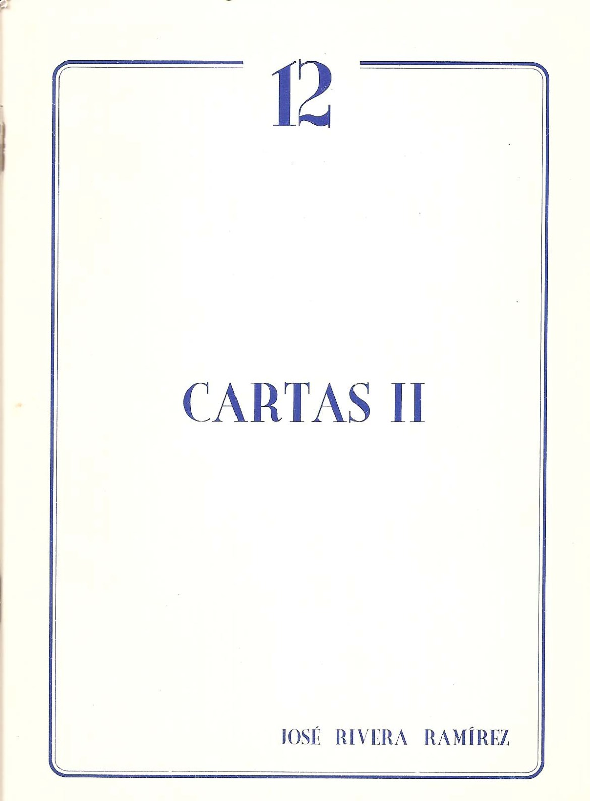 Cartas II