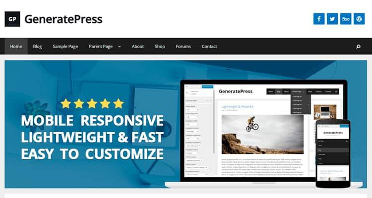 GeneratePress: el campeón de los temas WordPress en flexibilidad y ...