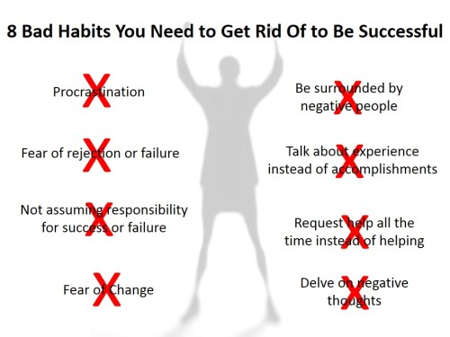 8 Bad Habits You Need to Get Rid