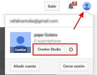 6-creator studio youtube