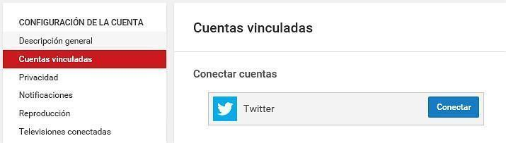 8-vincular redes sociales a youtube