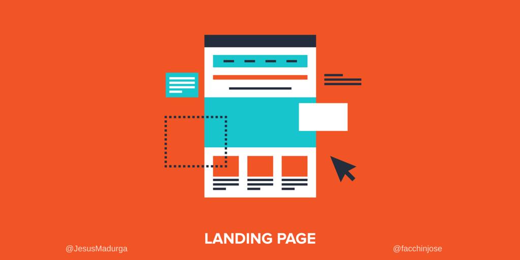 Landing page: Ejemplos, características y funciones #Infografía