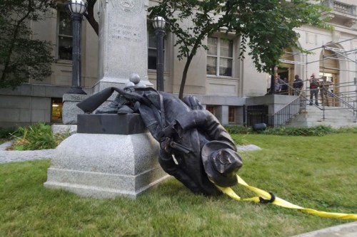 Confederate Statue Removed