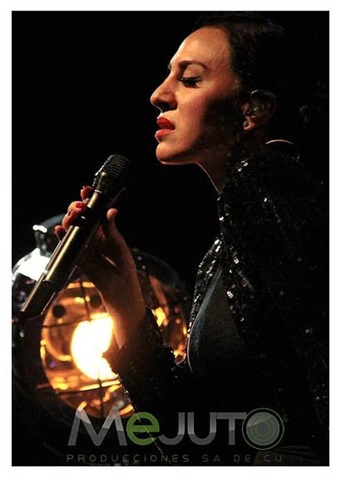 Monica Naranjo. Madame Noir. Mejuto Producciones. PHOTO Jose Luis Lozano