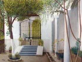 La puerta del jardín