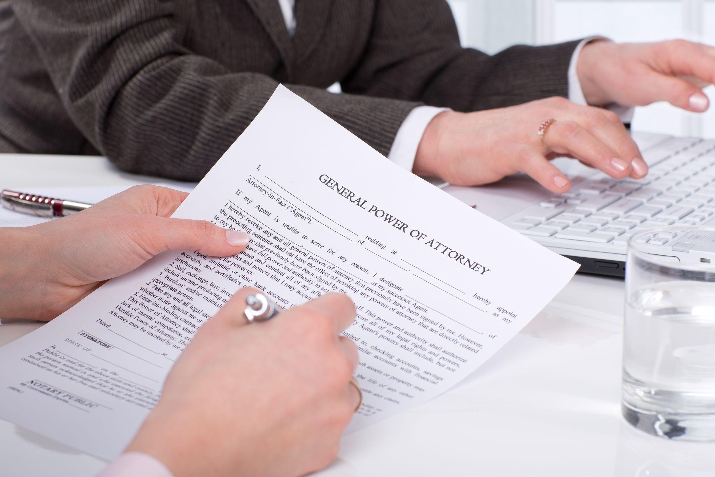 Poder notarial extranjero. El test de equivalencia