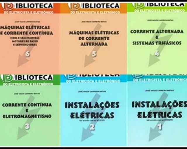 Coleção Biblioteca do Eletricista e Eletrónico