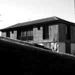 Casa na Barca Nova - vista do caminho sobre as fachadas nascente e sul