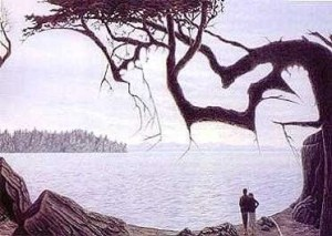 Continuum de conciencia, detenerse en la percepción de la conciencia.