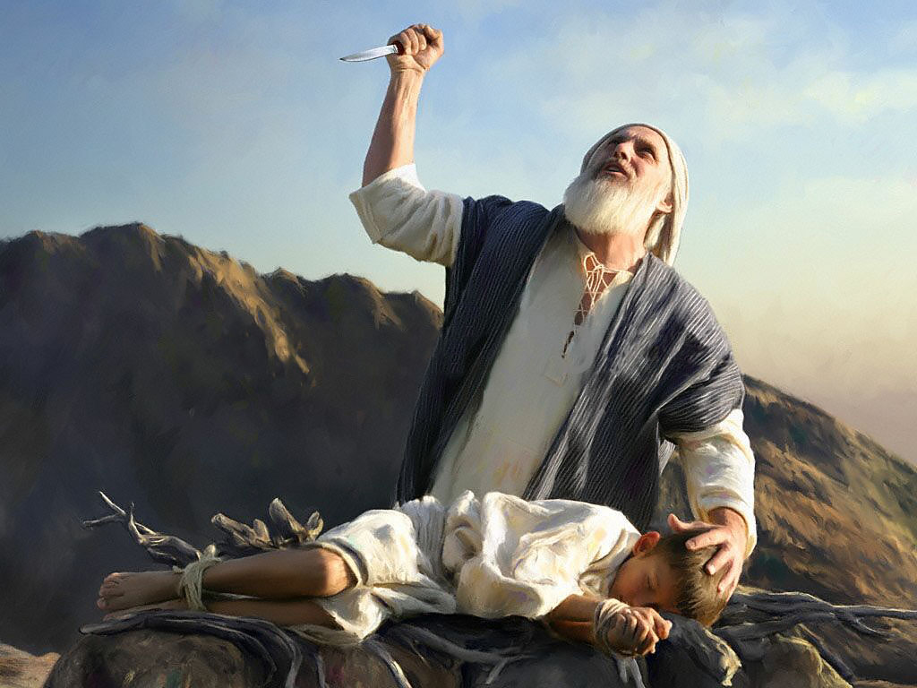 Image result for abraham and son