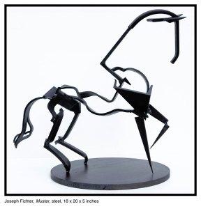 Muster Horse Sculpture Joseph Fichter