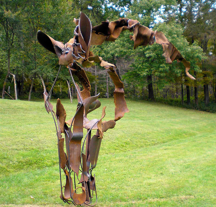 To Winward Horse Sculpture