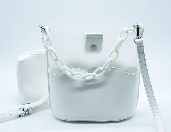 Bolso blanco troquelado 1 Josephine Looks