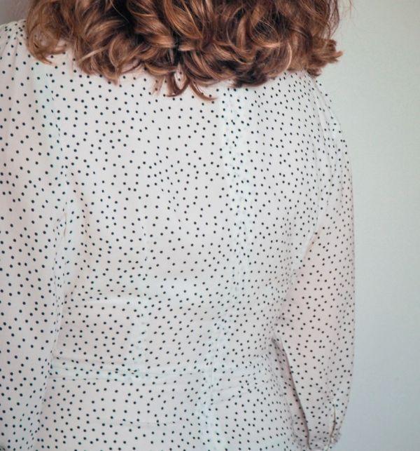 Vestido blanco estampado lunares 4 Josephine Looks
