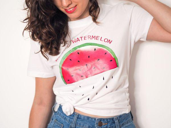 camiseta watermelon Josephine Looks