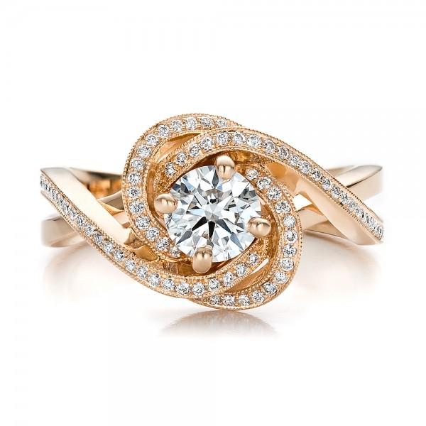 Rose Gold Rings Rose Gold Rings Diamond