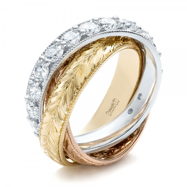 Eternity Baguette Diamond Wedding Band 101868 Seattle
