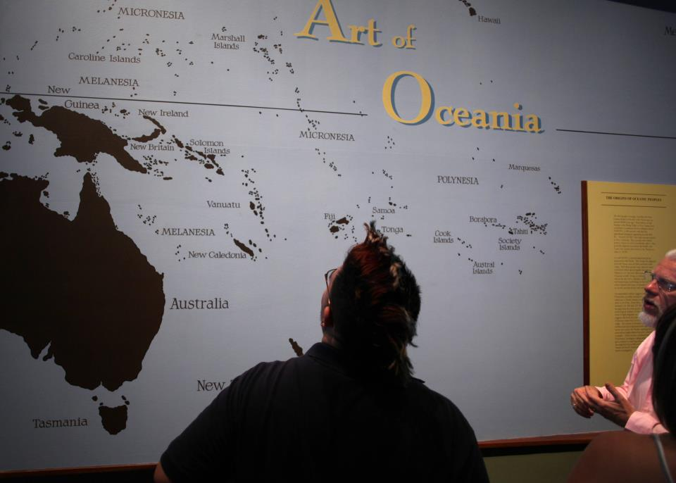 Students visit SAMA Oceanic Exhibit