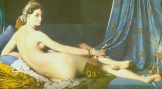 """Le Grande Odalisque,"" Jean-August Dominique Ingres, 1814."