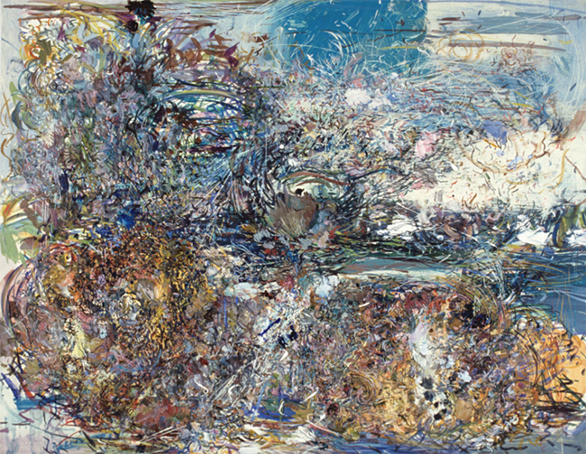 Without Wings, oil on canvas, 20 x 26 inches, 1979-80.